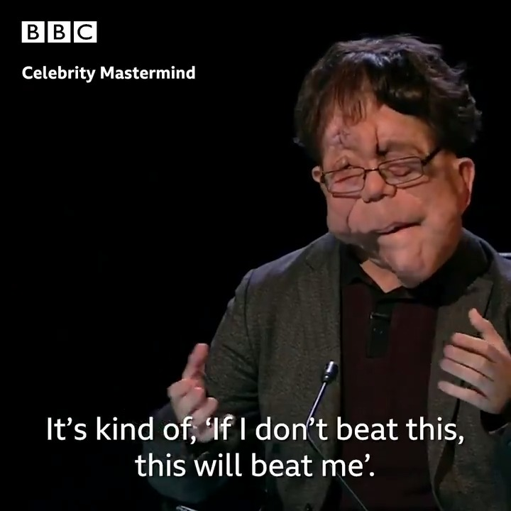 We can all learn a thing or two from @Adam_Pearson. 👏 #CelebrityMastermind