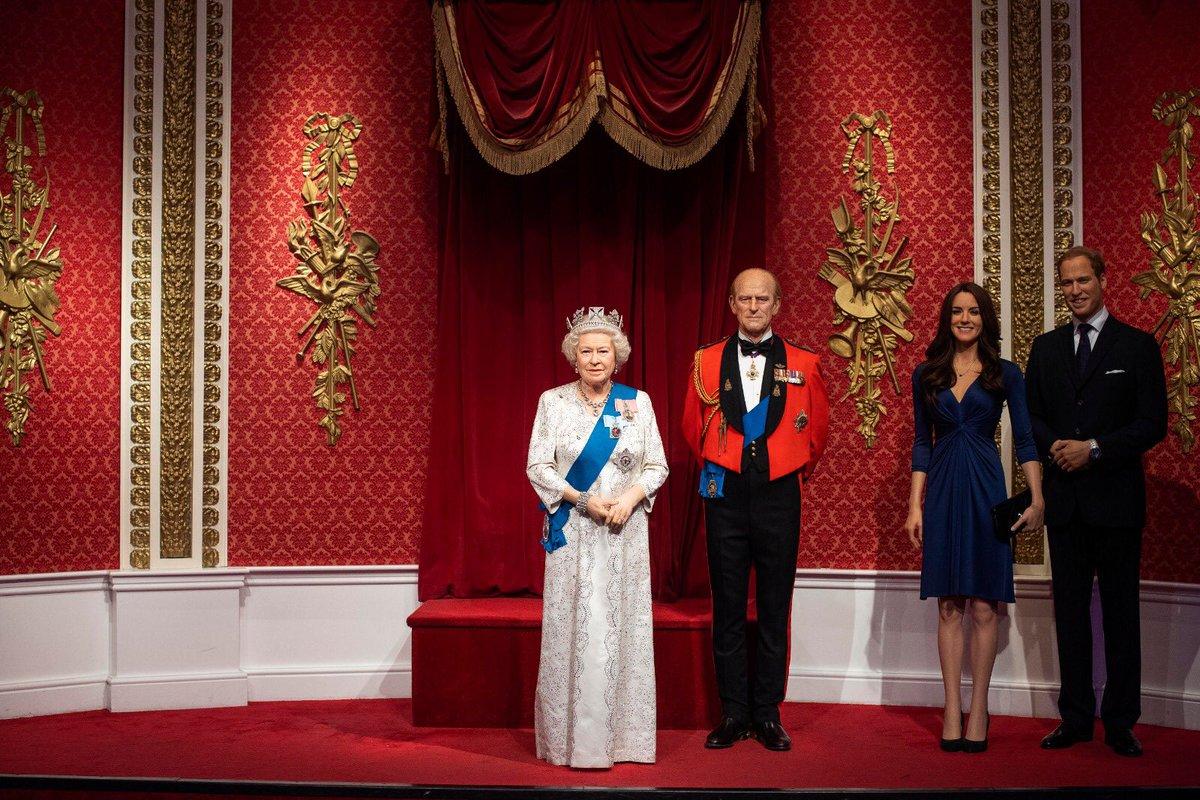 Royal Family Set di Museum Madame Tussaude
