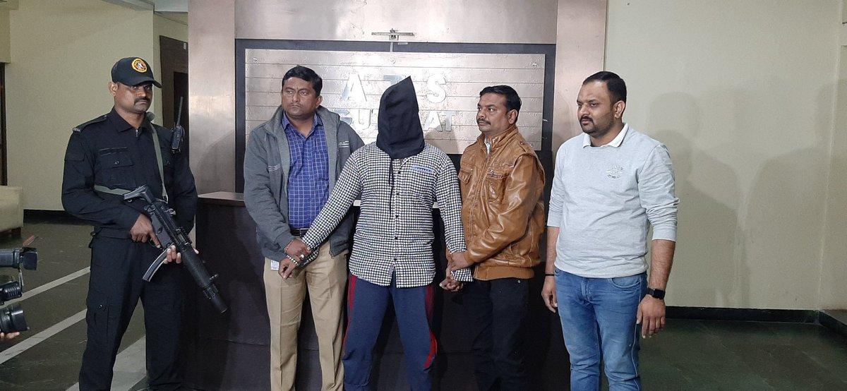 ATS Gujarat nabs a terror suspect in Vadodara