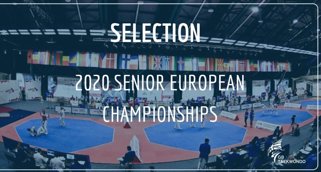 The selection procedure for this years European Championships in 🇭🇷 is here! Get yourself considered ➡️ bit.ly/2QYhWM5 #Euros20 #Taekwondo