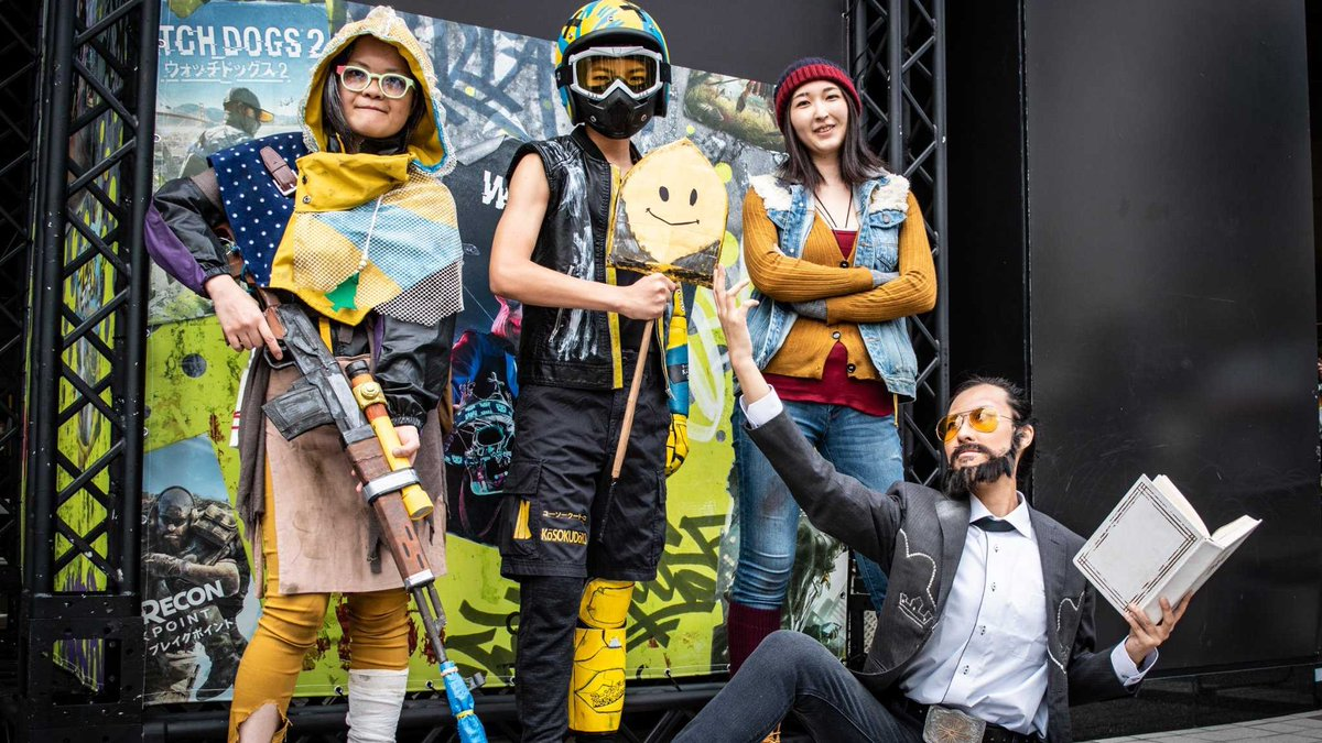 Far Cry 6 V Tvittere The Gang S All Here Nana By Bspon Kay Joseph By Skdr M Cap And Carmina Anonymous Farcry5 Fc5 Farcrynewdawn Fcnd Josephseed Nana Carmina Cosplay Https T Co 7ikl5s1hjc