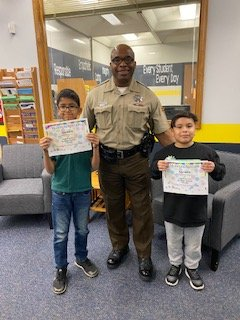 Moonlight Spotlight - Abi and Evan - for using Craig Core Values. Happy SRO day Officer White!!!