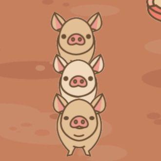 【ようとん場MIX】本格豚育成ゲーム 豚を育てて出荷しよう #ようとん場MIX #yotonmix #ウエディンブゥおはようございまーす^ - ^復活しました〜♪皆様また宜しくお願いします。そう言えば、ウエディンブゥの育成が…育成条件分かる方教えて下さい(T ^ T)