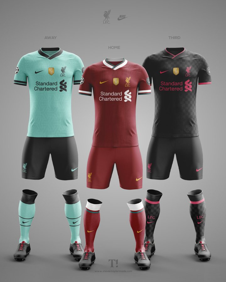 Liverpool Fc Away Kit 2020/21 - New Liverpool Away Kit 2020 21 Lfc Unveil Hyper Turqoise ...