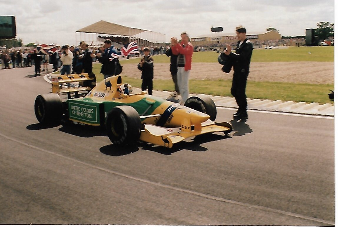 Strangest lap of my whole career, and the race was over... Silverstone GP '92 track invasion. Hope you enjoyed the day.