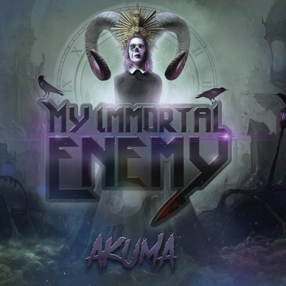 The first album #review of the year is the debut #album, Akuma, from My Immortal Enemy. Check it out on @outrightgeekery before the album drops tomorrow.  https://t.co/8yMEeYLcZK https://t.co/fNjy8T5xl4