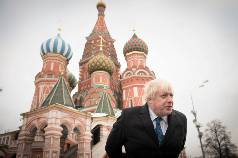 """""""He has looked at the report since it was submitted to him last month and he's satisfied it is clear for publication."""" That was 16th December regards releasing a report into Russian interference in our politics. @BorisJohnson still hasn't released it.  #ReleaseTheRussianReport <br>http://pic.twitter.com/JqTeSFqWOJ"""