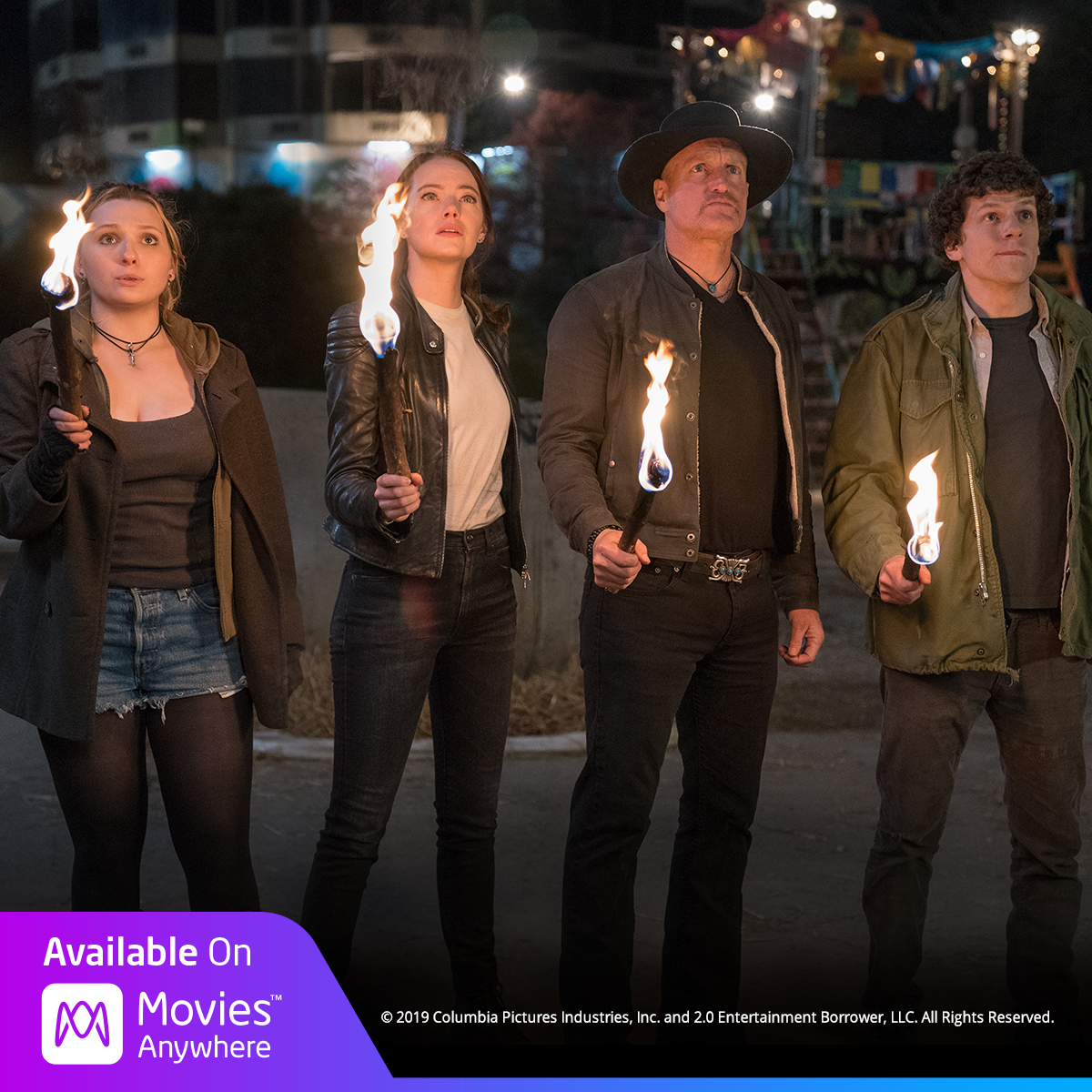 BOOM. YEAH! 💥 #Zombieland: Double Tap is available on @movies_anywhere today! https://t.co/4kR9uhUZYy https://t.co/lZEvZvnfTs