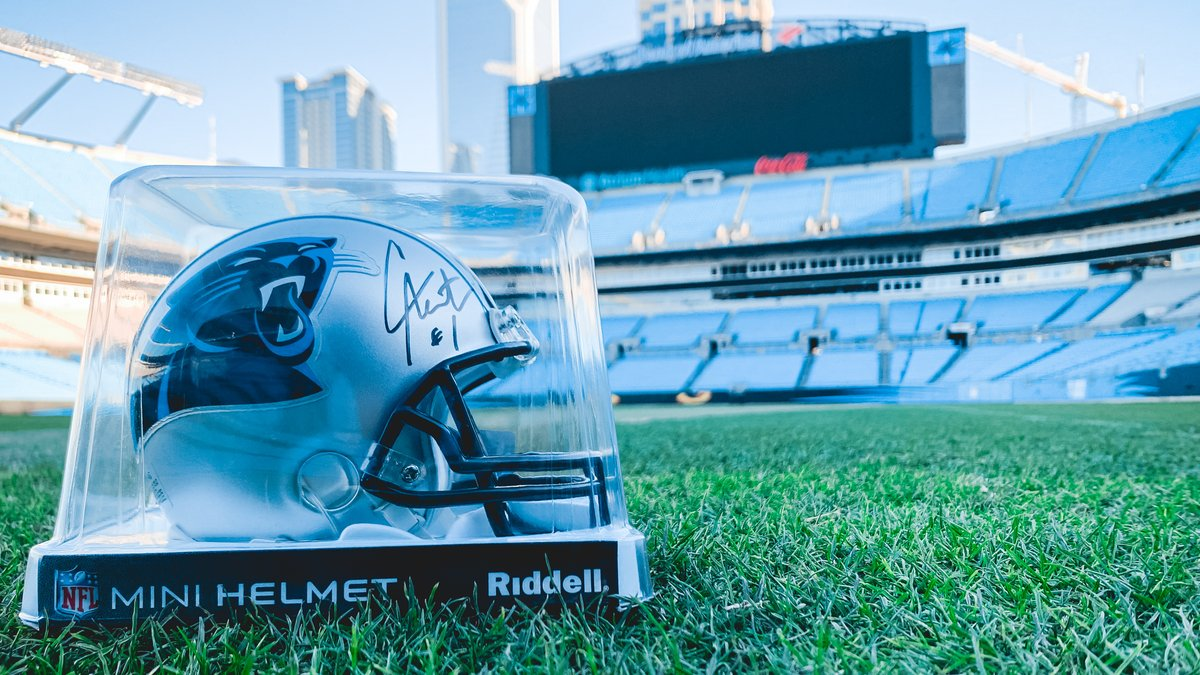 Who wants a signed @CameronNewton mini helmet?  RT & FOLLOW us for your chance to win ‼️  #WPMOYChallenge Newton https://t.co/DC4FbcTF3f