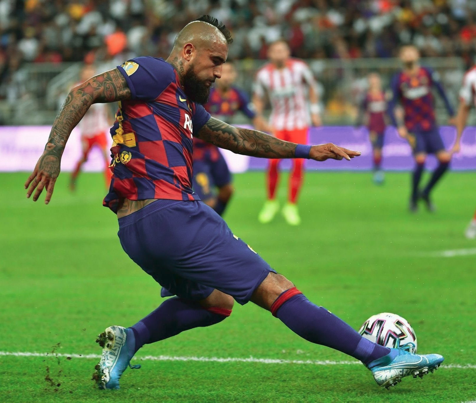 Image of Vidal in the Super Copa