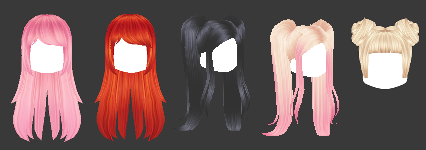 Roblox Ponytail Hair ゚ Sukimeki ゚ On Twitter Hey Guys Some New Items Avaliable The Blonde Buns Are There Since Last Week But I Didn T Rly Say Anything On Twitter Because I