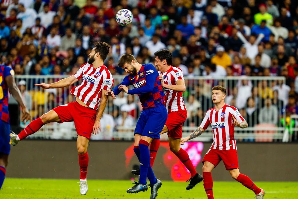 Барселона - Атлетико Мадрид, Суперкубок Испании
