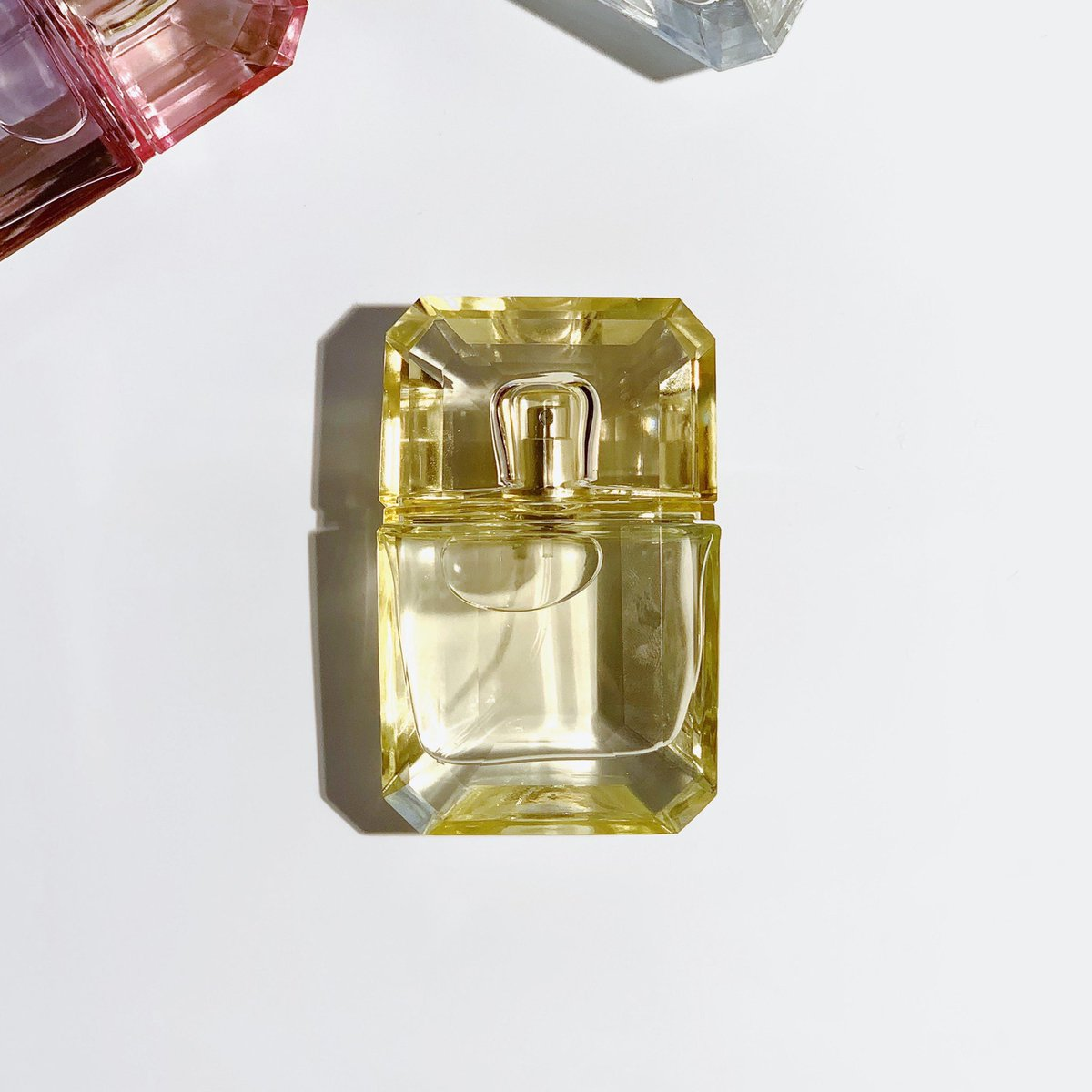 KKW Fragrance Diamonds by Kourtney (Yellow) is comprised of yellow floral bouquet notes with jasmine, iris and magnolia. Shop this fragrance for $40 now at  http://KKWFRAGRANCE.COM   or in-stores at @ultabeauty . #KKWDIAMONDS