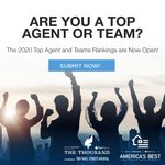 You're successful and driven. Find out if your hard work has paid off by entering REAL Trends and Tom Ferry The Thousand and America's Best. @tomferry https://t.co/6mNwEFkT1D
