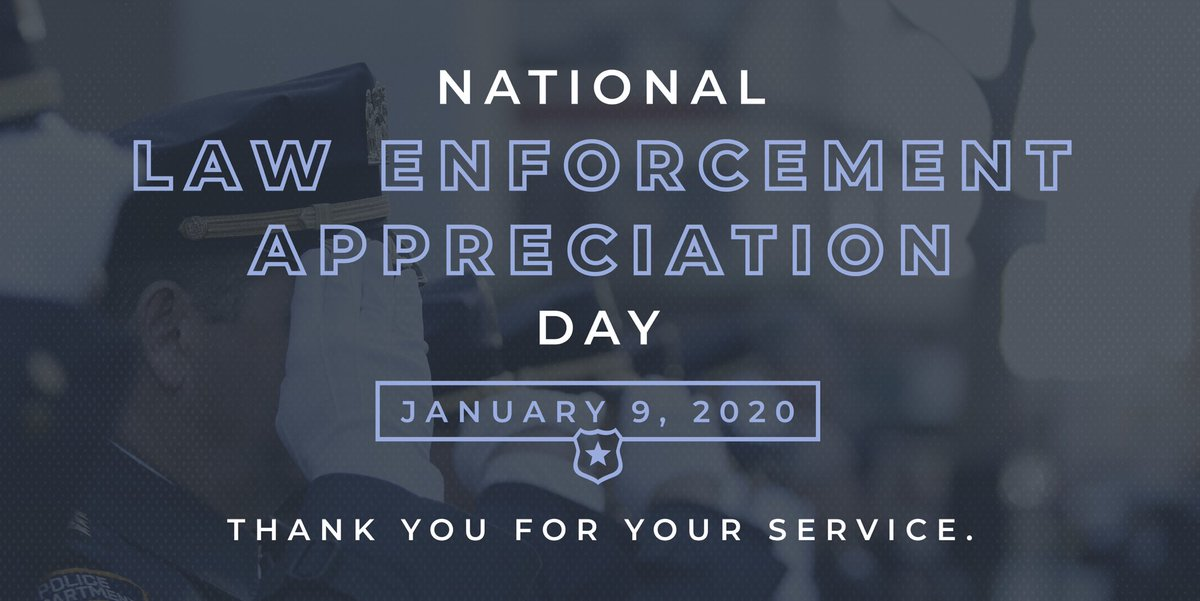Today we honor Texas' finest, the men and women who work tirelessly to protect people across the state. Thank you for keeping Texas safe. #LawEnforcementAppreciationDay