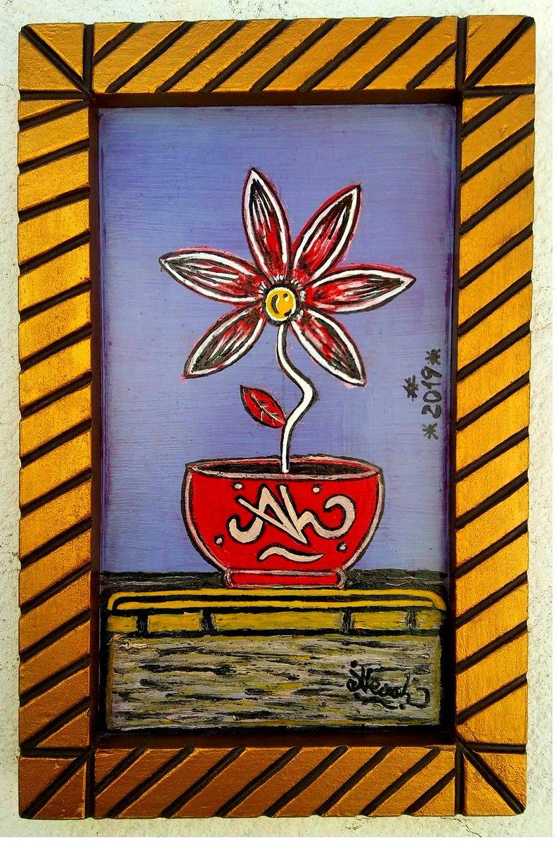 #LaMargheritaDiMargherita #arte #mostra #Esposizione #artecontemporanea #faidate #margherita #antiquariato #AlcoolBen #simbolo #alcool #contemporaryartist #Spazigalleria #artevarie  #artemoderna #artegalleris #collectingart #tela #fiore #CorniceLiscaDiPesce #simbolismometaforico https://t.co/8cVYTlrdOR