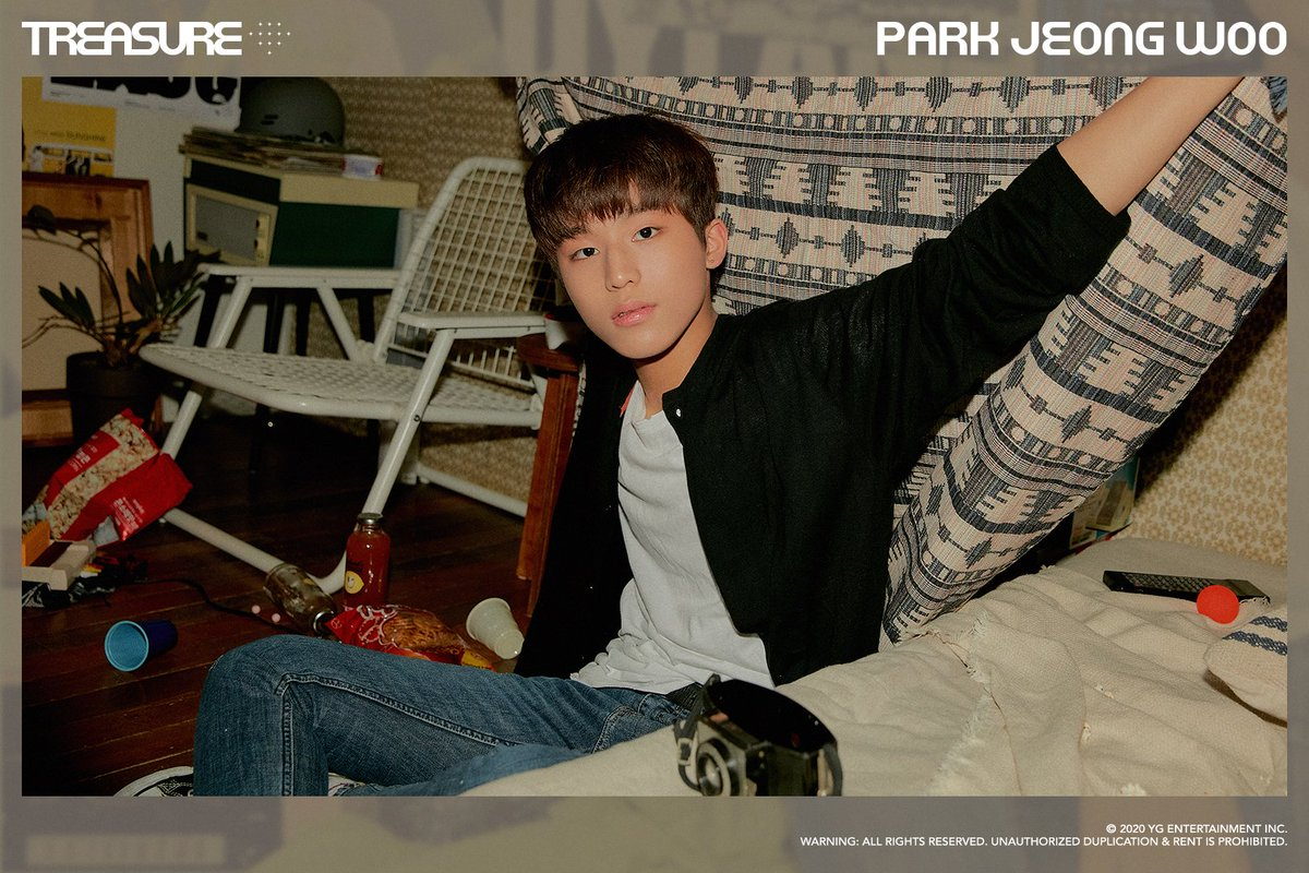 #TREASURE EDITORIAL vol.1 <PARK JEONG WOO> Photography for treasure maker 2020/1/2nd week #트레저 #TREASURE_EDITORIAL #vol_1 #박정우 #PARKJEONGWOO #YG