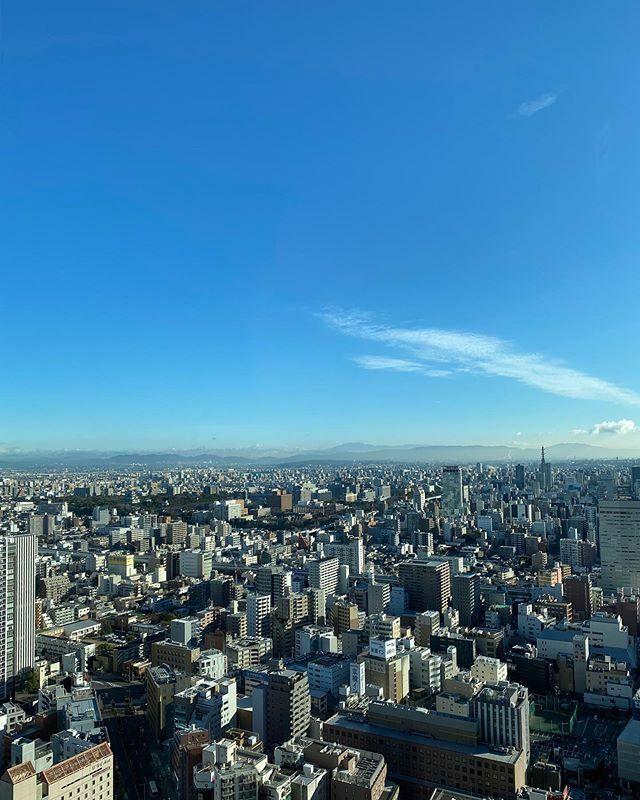 #今日もいい天気 〜 .  #さっきの空 #サッキソラ #サッキノソラ #ノンフィルター #ノーフィルター #青空 #あおぞら #bluesky #空 #そら #sky #雲 #くも #cloud #clouds