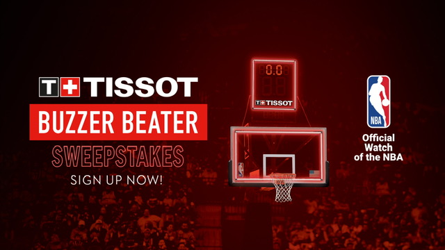 #ThisIsYourTime to win a trip for you & a friend to go to #NBAAllStar in Chicago! Winner announced after the next @TISSOT Buzzer Beater.   Sign up now ➡️ https://t.co/vVoV89kGdi https://t.co/KLC8nsEZ8Z