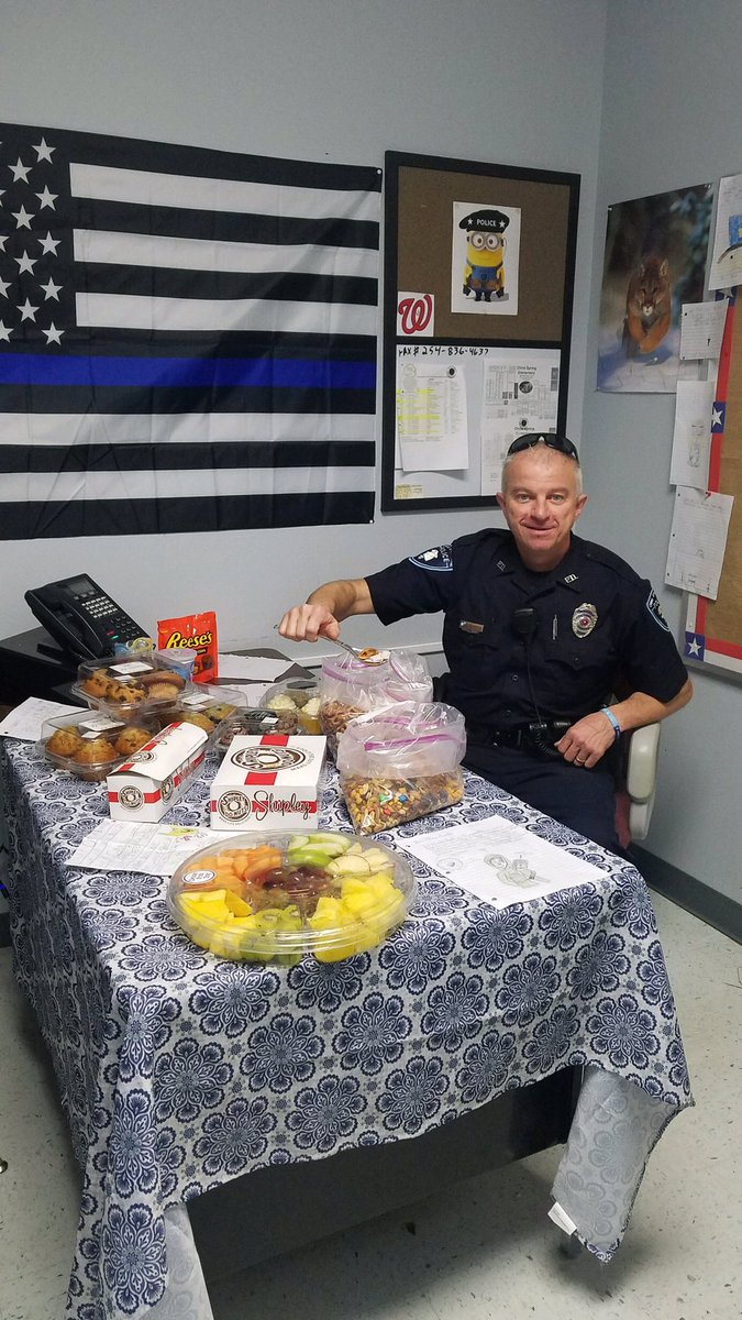 It's Law Enforcement Appreciation Day ... WE LOVE HAVING OFFICER BUWALDA ON OUR CAMPUS!