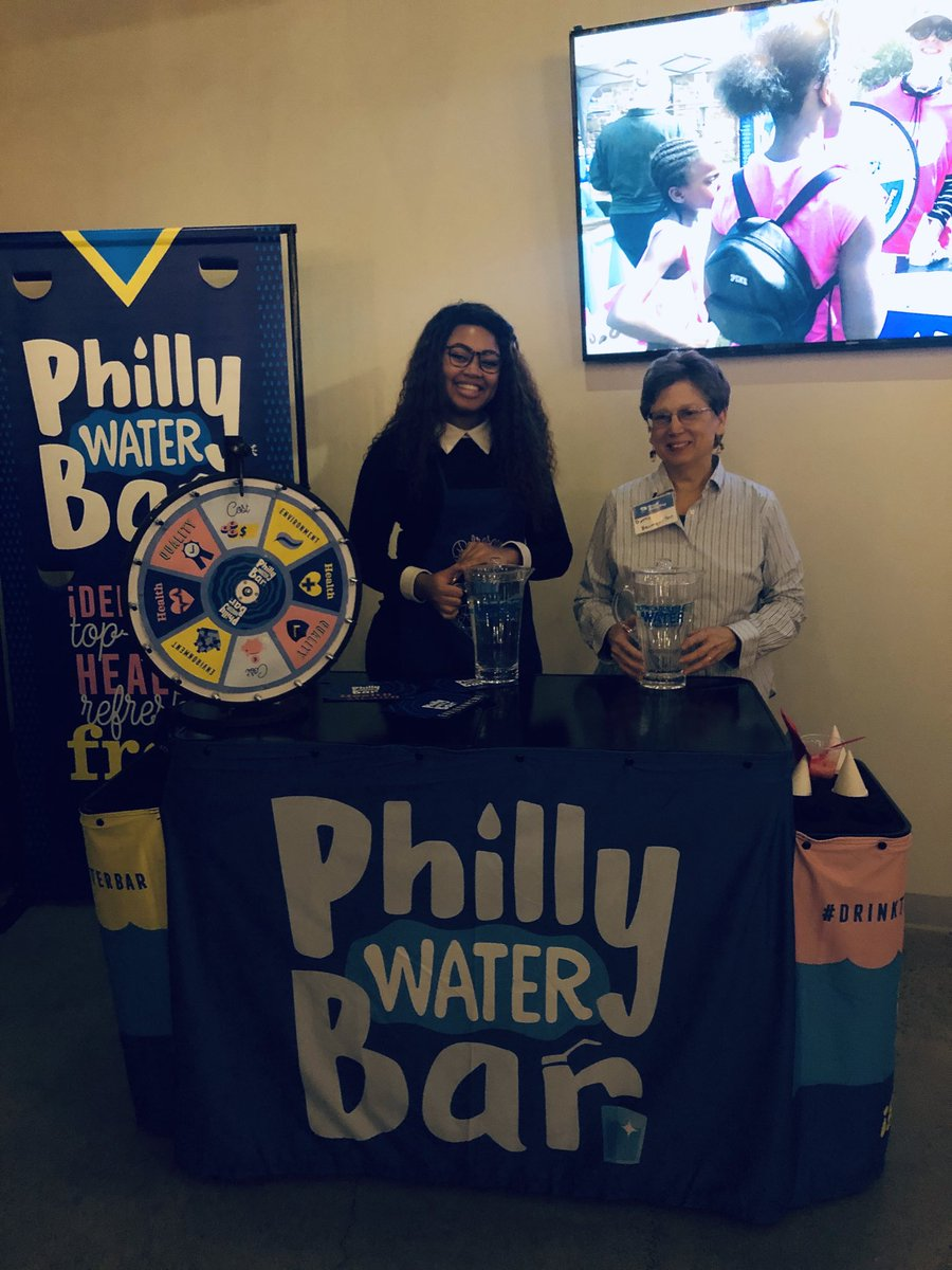 Of course @PhillyH2O's 'Water Bar' has the best #TapWaterTrivia!