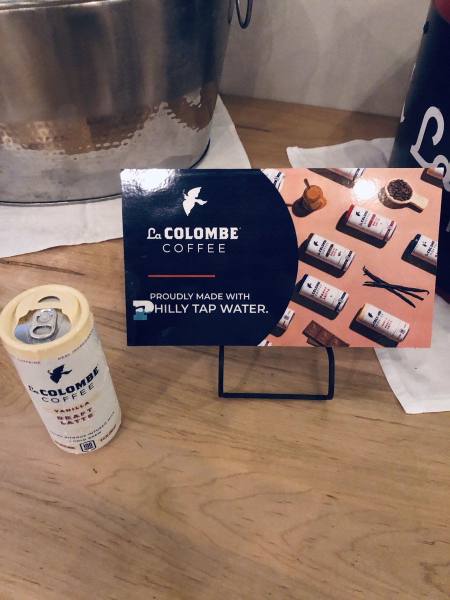Did you know @LaColombeCoffee is brewed with Philly's finest?!
