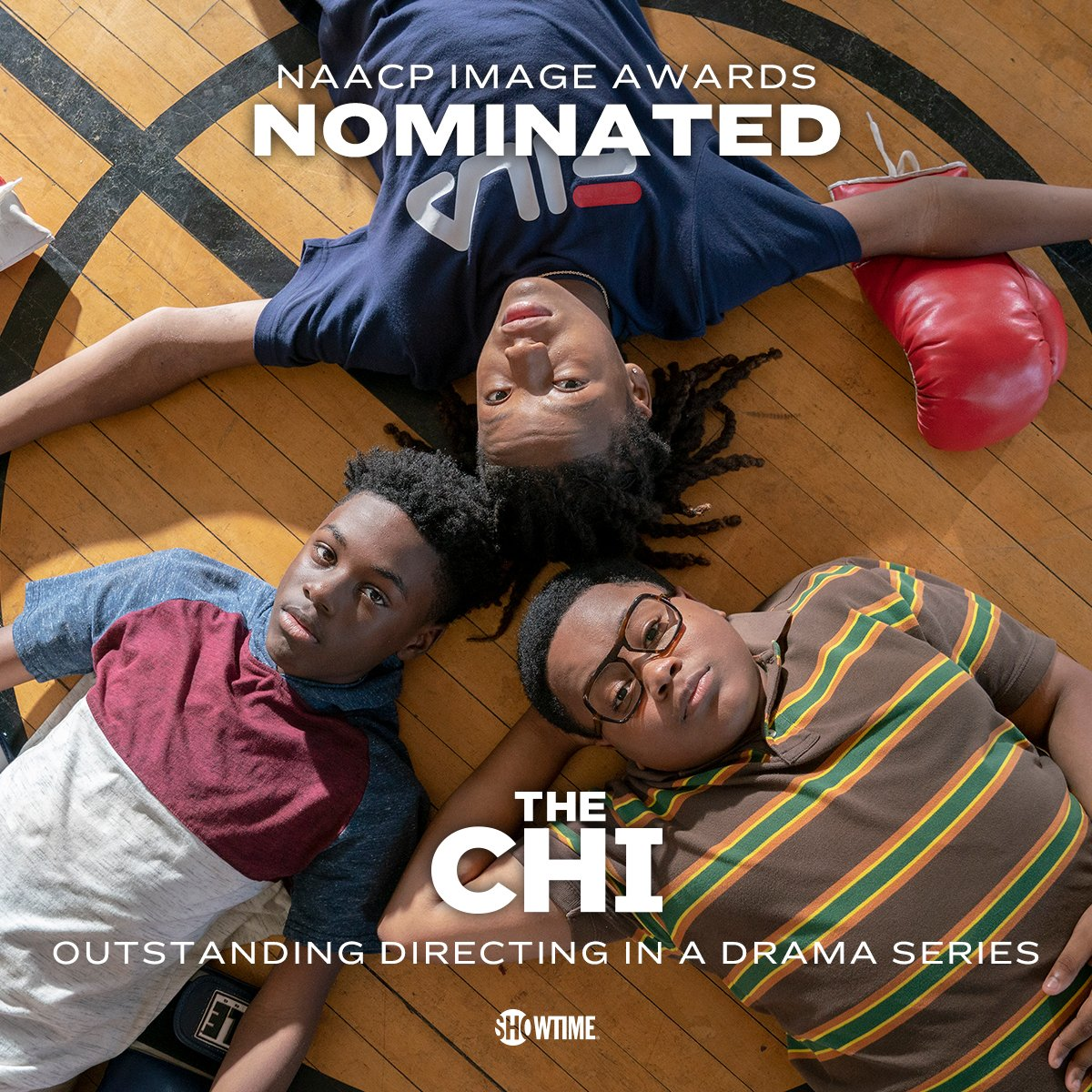Real recognize real. Congrats to #TheChi fam on 2 #NAACPImageAwards nominations! 🙌
