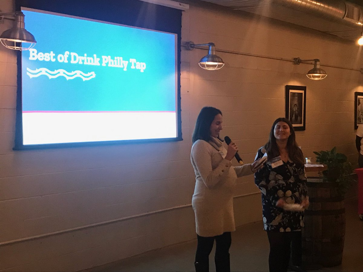 Celebrating the success of the first year of @drinkphillytap @ImpactEDphl