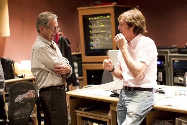 "#ThrowbackThursday to @AlSchmitt_Music  and @PaulMcCartney in Studio C at Capitol Studios. ""All you need is love""  #TBT #PaulMcCartney #RecordingStudio #CapitolStudios Repost: Al Schmitt https://t.co/meeyhifxuy"