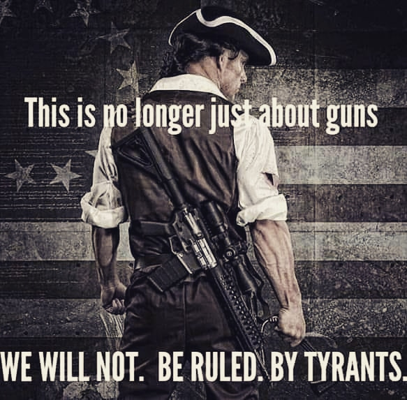 We will not stand by. We will not comply. We will not go quietly without a fight. We will have liberty, justice, and freedom for all. #boogaloobois #bigluau #Boogaloo2020 #Patriot #wewillnotcomply #Liberty #libertyordeath #2amendment #tyranny #guillotine #ACAB #burythebluepic.twitter.com/UBIjRmU8Zb