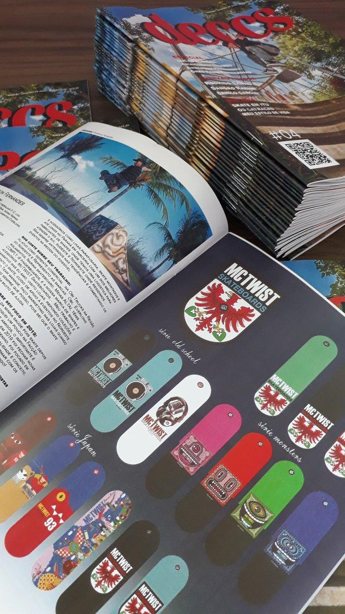 McTWIST anunciante oficial e grande parceria da deccs magazine esta na edição N04 corrá lá ver link na bio.  Acompanhe no insta  @mctwistskateboards  ______________________________ #skatecrunch #lazerskateboarding #skateboardingisfun #skateeveryday #berrics  #skatermemespic.twitter.com/RMmrjQhMKA