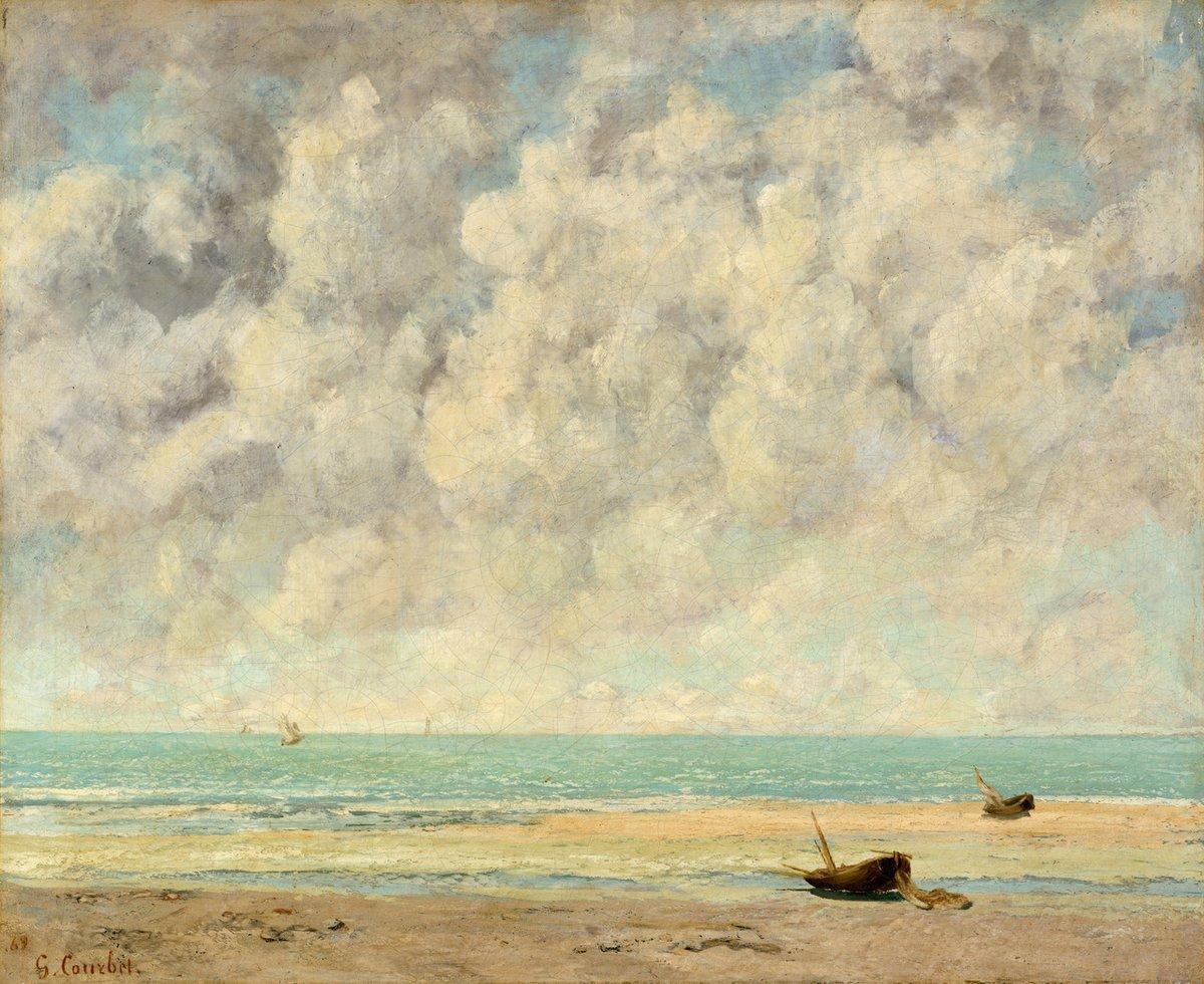 Gustave Courbet (1819–1877) The Calm Sea 1869