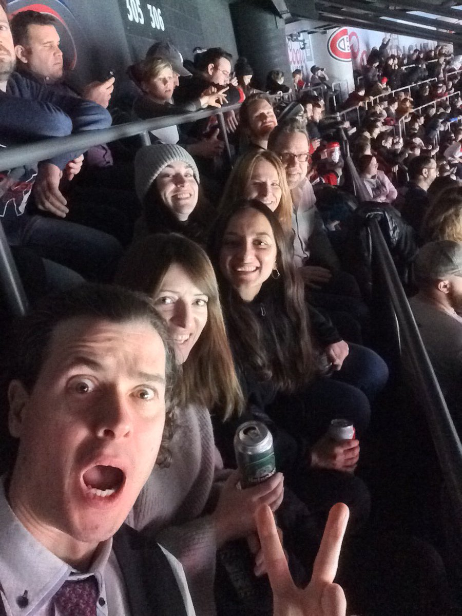 #GCoM Canada at the Habs game! #habselfie  <br>http://pic.twitter.com/X7Vr859W3w