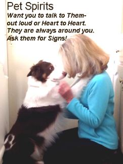 Want you to talk to them- out loud or heart to heart. They are always around you. Ask them for Signs!