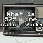Image for the Tweet beginning: Video: What is 525-Line #Analog