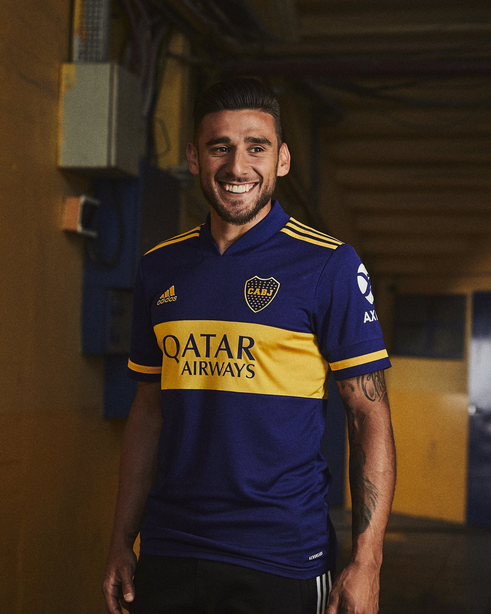 Es esta, la de Boca. Introducing the new 2020/21 Home and Away jerseys for @bocajrsoficial, exclusively available now through adidas and official club stores.