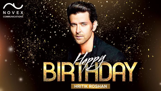 Happy Birthday to the ace actor & dancer of Bollywood - Hrithik Roshan