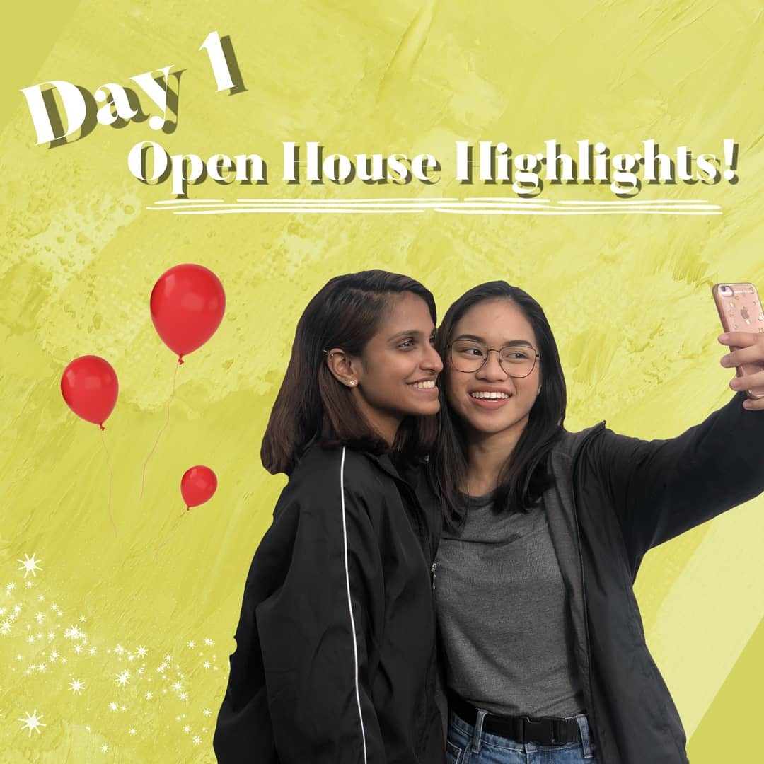 OHmy! The first day of Open House was ONEderful! It was truly a pleasure for us to have shared smiles and excitement with you! 😆😆  Here are some highlights from Day1 of Open House! 😎 #RPOH20 #OHmyRP #DiscoverRP https://t.co/oYzgNySHOO