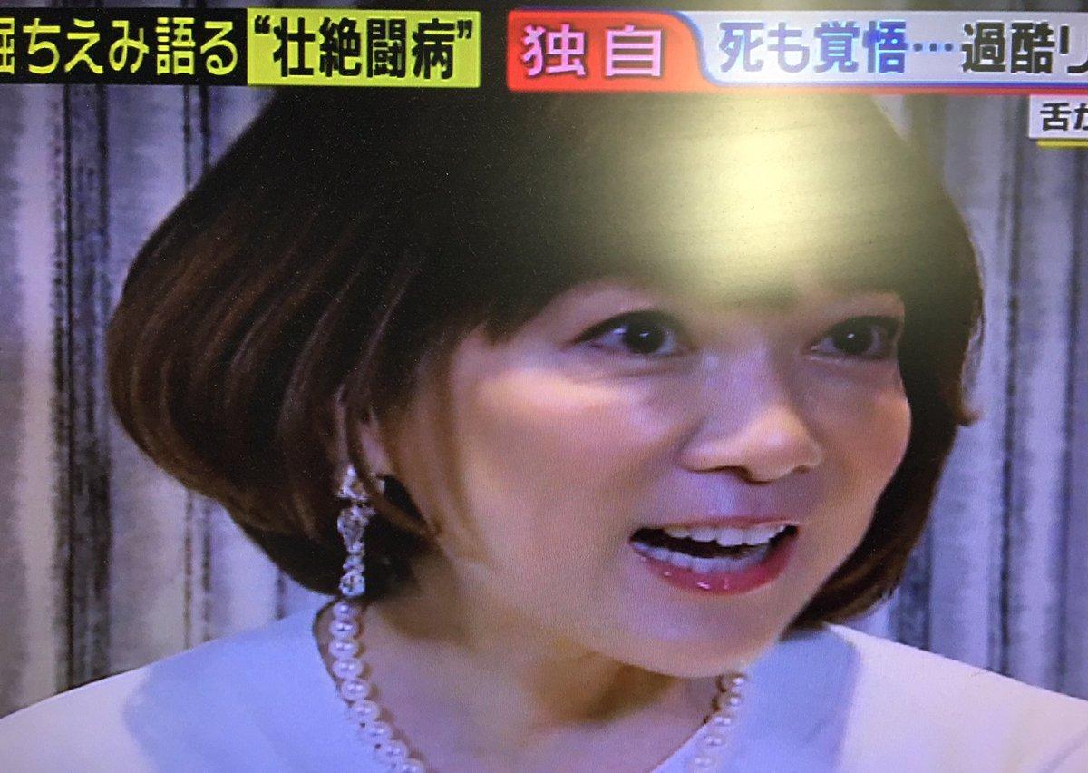 堀 ちえみ ワイド ショー