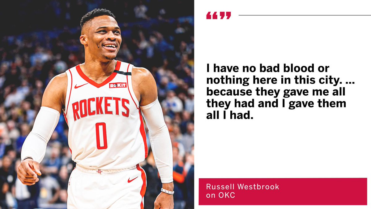 Espn On Twitter It S All Love With Okc For Russwest44