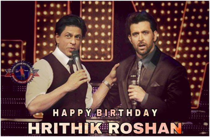 Wish you very very Happy Birthday Hrithik Roshan sir and Love You sir