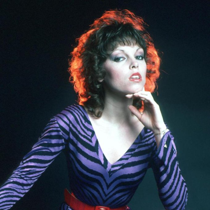 Happy Birthday to American singer songwriter Pat Benatar, born on this day in Brooklyn, New York in 1953.