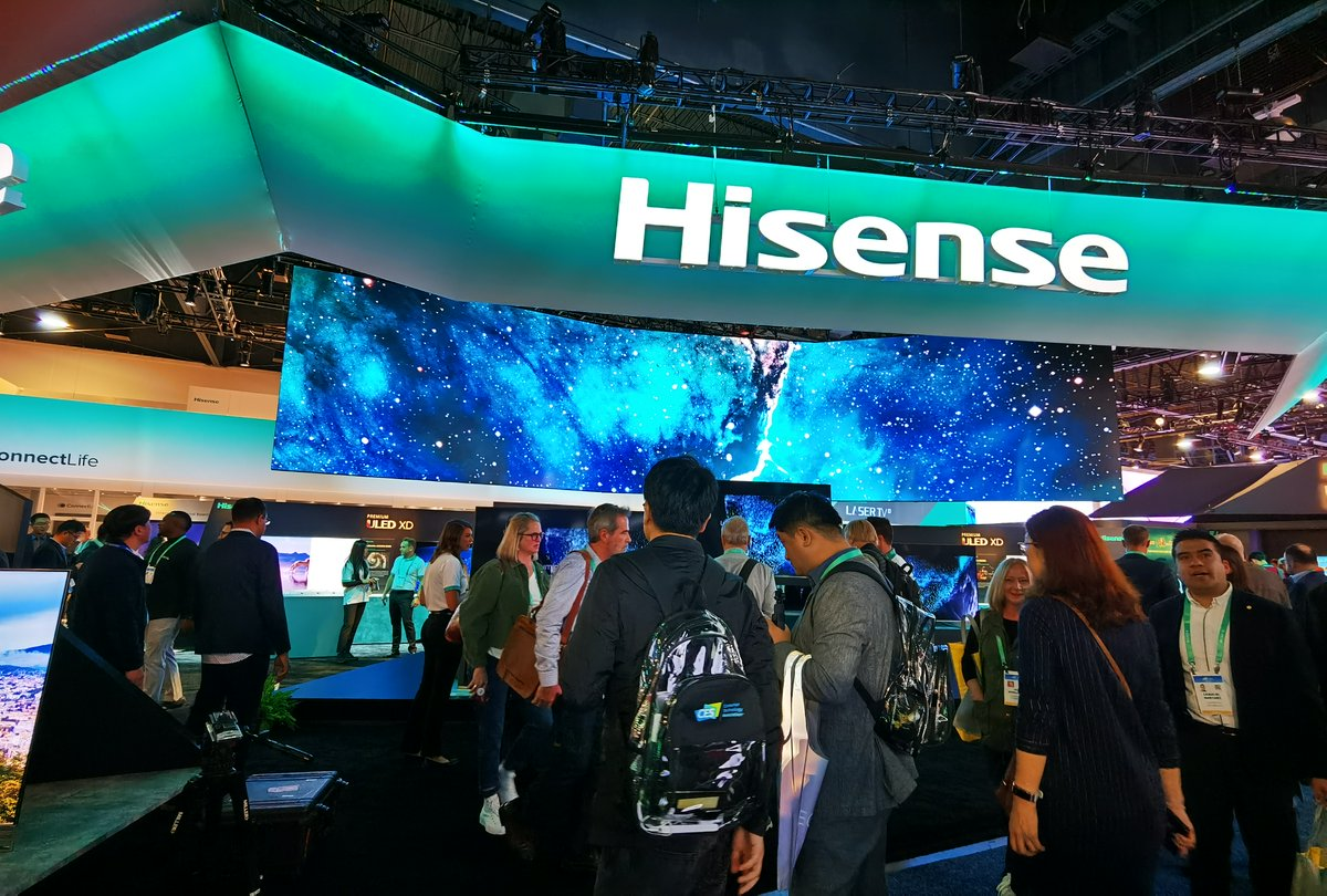 Have you been keeping up with #CES2020? Want to know more about our cutting edge TV launches in the UK for 2020?  It's all here for you 👉 http://bit.ly/Hi-CESBlog  #Hisense #CES