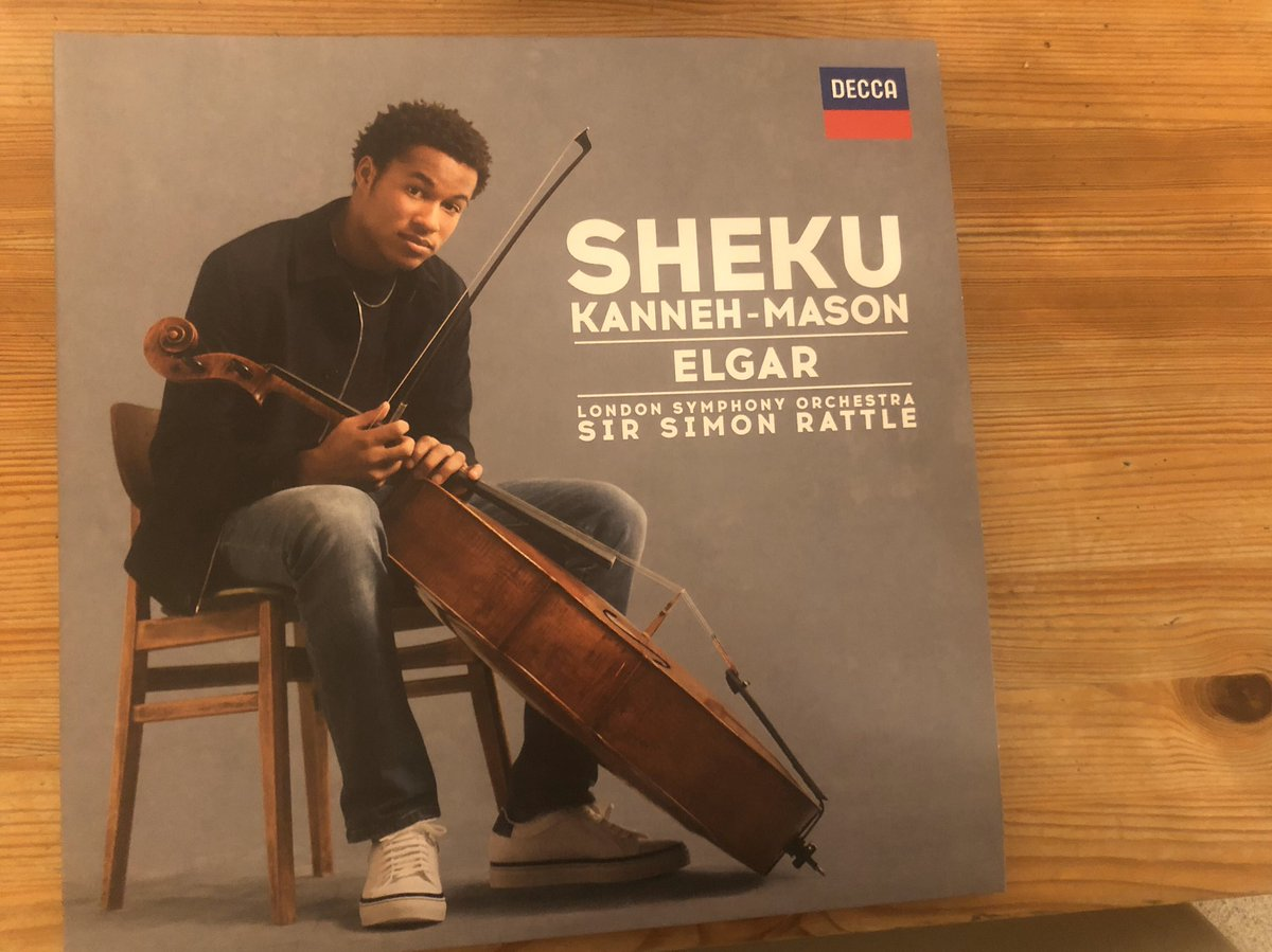 Pleased to host the launch of the fabulous new recording of the Elgar Cello Concerto @ShekuKM @deccaclassics last night. It's out today. You can hear it @ClassicFM after 12 and every morning next week at around 10.15.