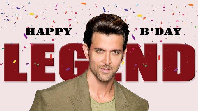 Happy Birthday to you Hrithik Roshan