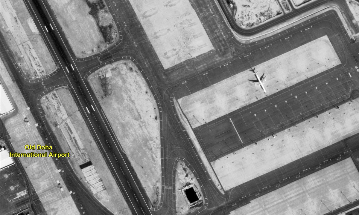 High Resolution Panchromatic and Multi-spectral Images covering Qatar area as observed from #CARTOSAT3. For details visit: https://bit.ly/37YU4yR