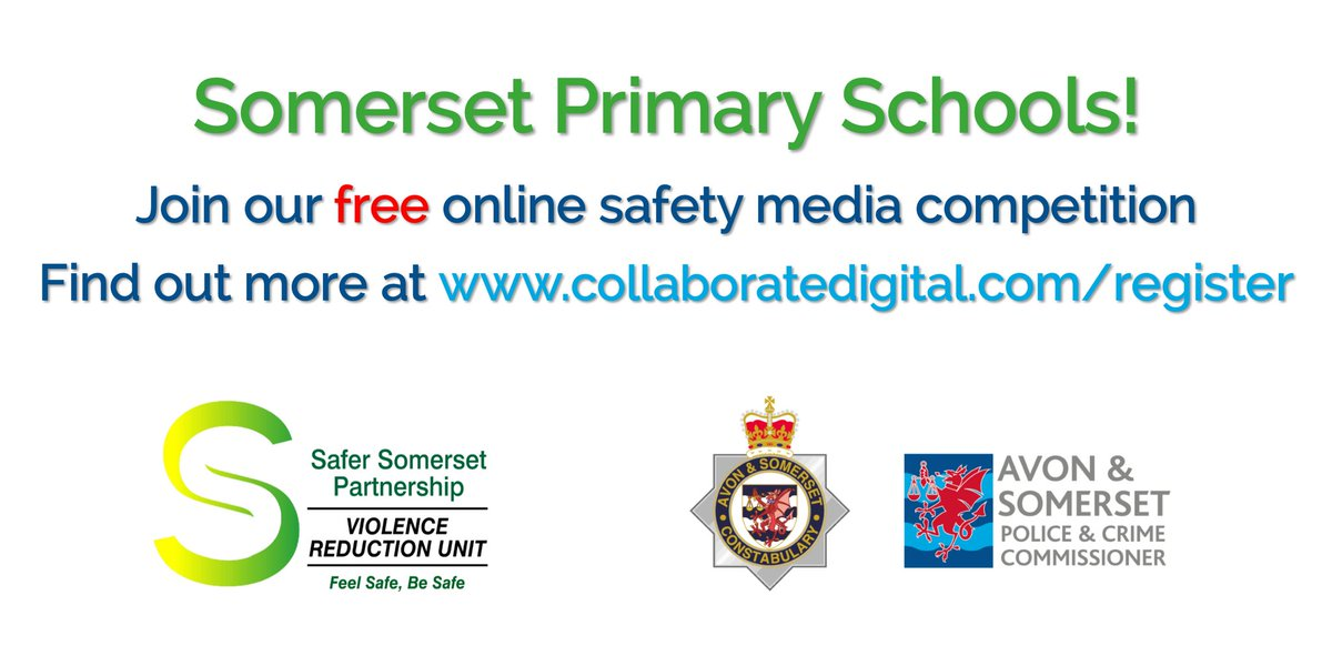 Hey @CurryMallet, welcome aboard the Safer Somerset Partnership's Media Challenge - @AandSPCC @ASPolice and @SomersetCouncil want to encourage young people to explore ways of staying safe in the modern world and we want to hear what your pupils think #youthvoice #makingitreal