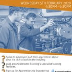 Image for the Tweet beginning: ⭐️APPRENTICESHIP OPEN EVENT⭐️ Wednesday 5th February