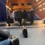 Image for the Tweet beginning: Primer contacto con el escenario