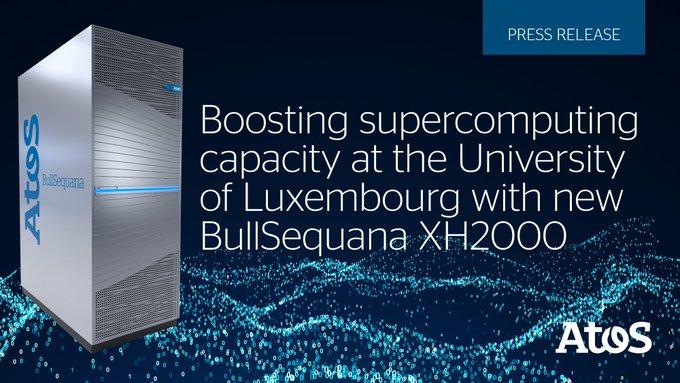 @Atos impulsa la investigación en la Universidad de Luxemburgo con su superordenador BullSequan...